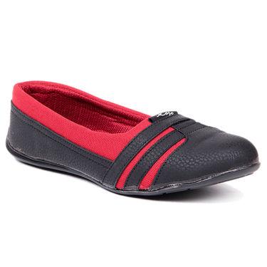 Ten Fabric Black Casuals Shoes -ts194
