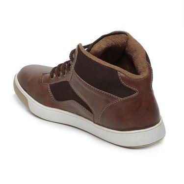 Ten Brown Leather Sneakers -mtj18