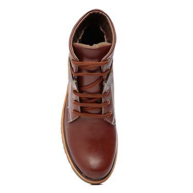 Ten Tan Leather Boots -mtj02