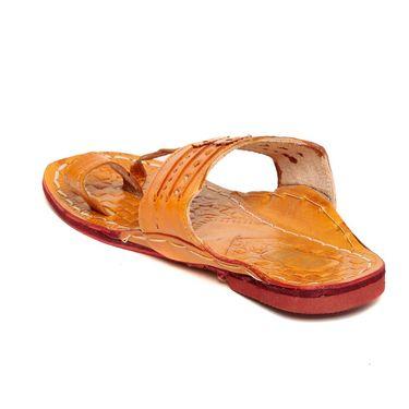 Ten Tan Synthetic Leather Sandals -mtj05