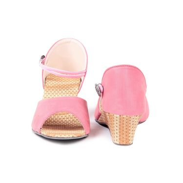 Ten Fabric Pink Sandals -ts85