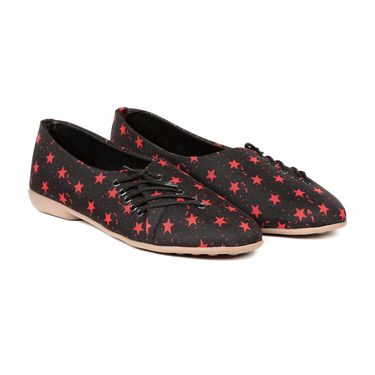 Ten Fabric Black Womes Sports Shoes -ts319