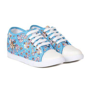 Ten Canvas Blue Sneakers -ts336