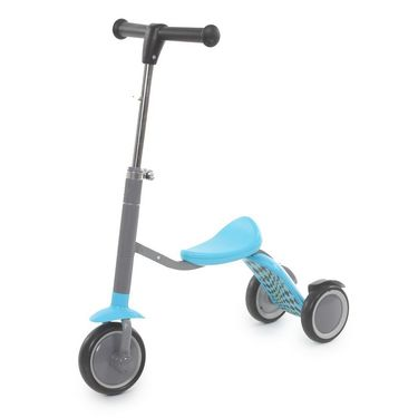 2 in 1 Sit or Kick Scooter for Kids - Blue