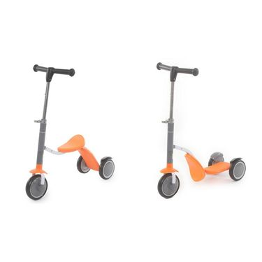2 in 1 Sit or Kick Scooter for Kids - Orange