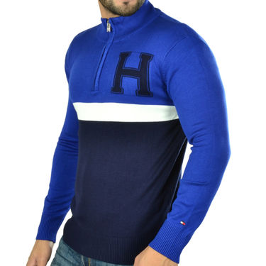 Osai Full Sleeves Sweater_Tgh09 - Blue