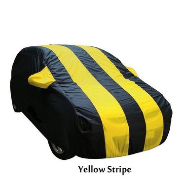 Fiat Abarth Punto Car Body Cover  imported Febric with Buckle Belt and Carry Bag-TGS-G-WPRF-16