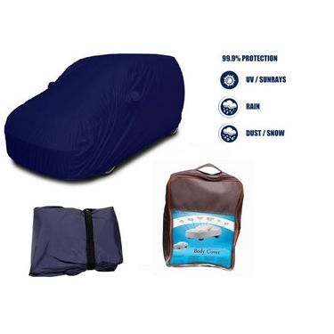 Mahindra Supro Car Body Cover  imported Febric with Buckle Belt and Carry Bag-TGS-G-WPRF-69