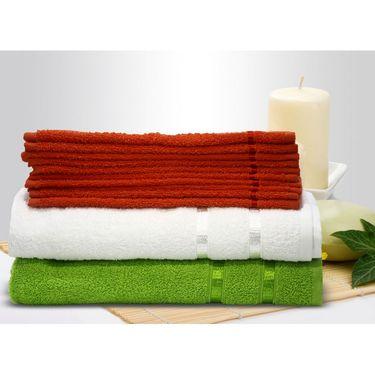 Story@Home 12 Pcs Premium Towel Combo 100% Cotton-Multicolor-TW12_05S-01X-03X