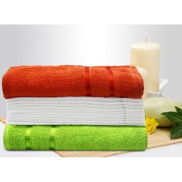 Story@Home 12 Pcs Premium Towel Combo 100% Cotton-Multicolor-TW12_05X-01S-03X