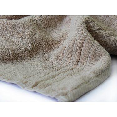 Story@Home Pack of 4 Pcs Hand Towel 100% Cotton-Beige-TWL-1019-M
