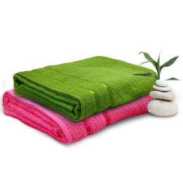 Set of 2 Storyathome Cotton Bath Towel-TW_1202-L_1203-X