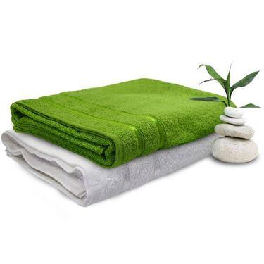 Set of 2 Storyathome Cotton Bath Towel-TW_1203-L_1201-X