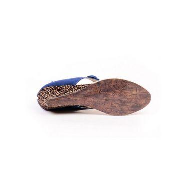 Ten Suade Leather 266 Women's Sandals - Blue