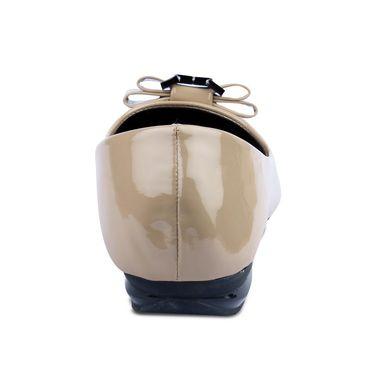 Ten Patent Leather Bellies For Women_tenbl004 - Beige