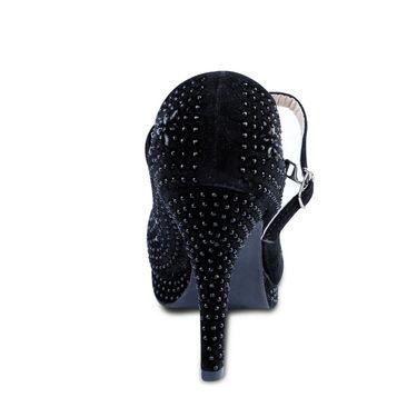 Ten Synthetic Heeled Slipons For Women_tenbl060 - Black