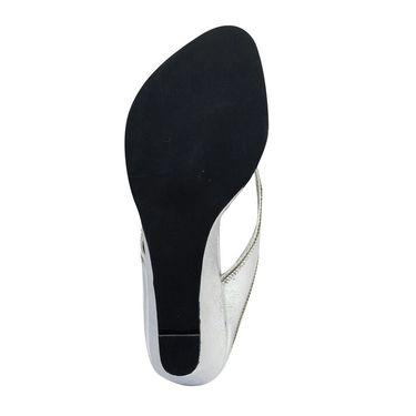 Ten Synthetic Sandals For Women_tenbl189 - Silver