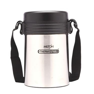 Milton Lunch Box Tuscany 4 Thermosteel Tiffin With Plain Lid FG-TMS-TTF-0005