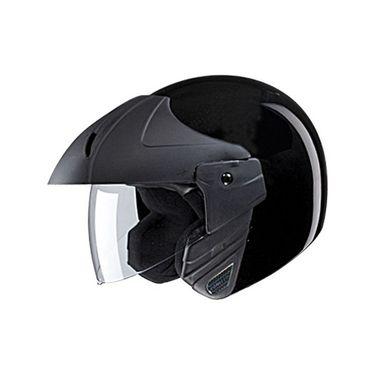 Studds - Open Face Helmet - Ninja Concept (Black) [Extra Large - 60 cms]