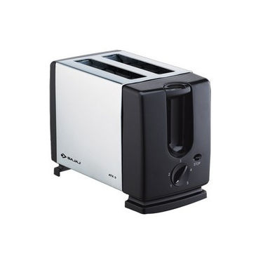 Bajaj Majesty ATX3 Auto Pop Up Toaster - Black and Silver