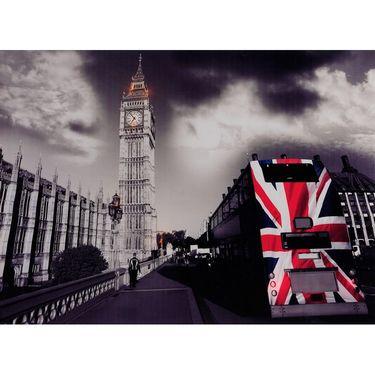 Led Painting- LONDON BUS-UL-LBUS