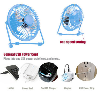 USB Cooling Fan-Blue