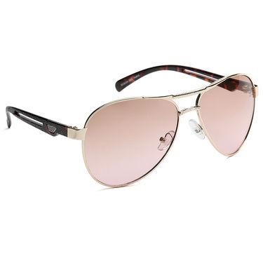 Alee Metal Oval Unisex Sunglasses_161 - Pink