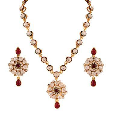 Variation Graceful Multicolor Long Necklace Setn_Vd14151