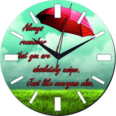 meSleep Rain Digital Printed Wall Clock-WC-R-01-46