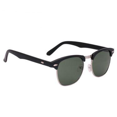 Royal Son Wayfarer Metal Sunglasses_What1645 - Black