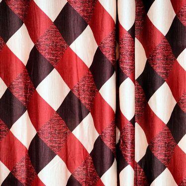 Set of 8 Printed  Window curtain-5 feet-WNR_4_3011