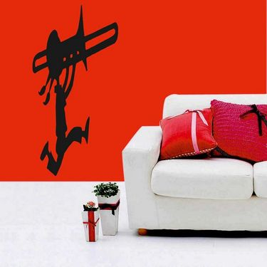 Musician Black Wall Sticker-WS-08-041