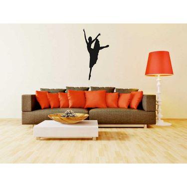 Dancing Girl Decorative Wall Sticker-WS-08-056