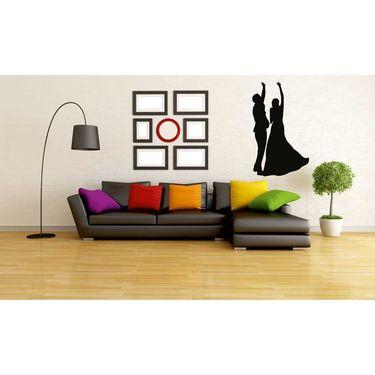 Dancing Couple Decorative Wall Sticker-WS-08-061