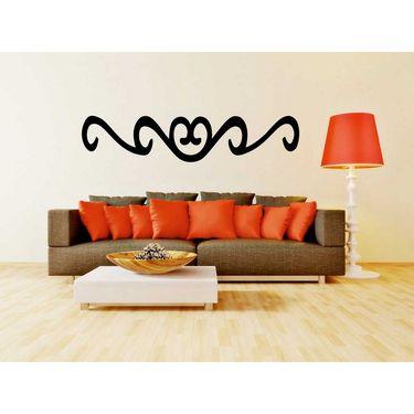 Black Design Decorative Wall Sticker-WS-08-147