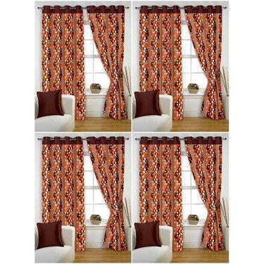 Storyathome Set of 8 Window curtain-5 feet-WTZ_4-1007