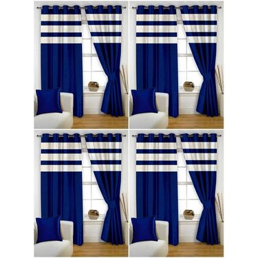 Storyathome Set of 8 Window curtain-5 feet-WTZ_4-1011