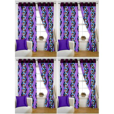 Storyathome Set of 8 Window curtain-5 feet-WTZ_4-1015