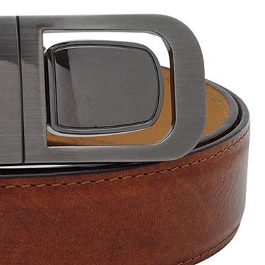 Walletsnbags Mustang Leather Belt - Tan