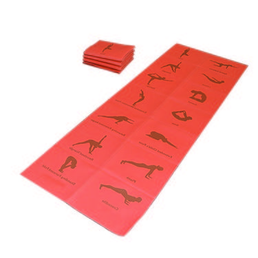 Welcare Foldable PVC Yoga Mat - 0.6Cm