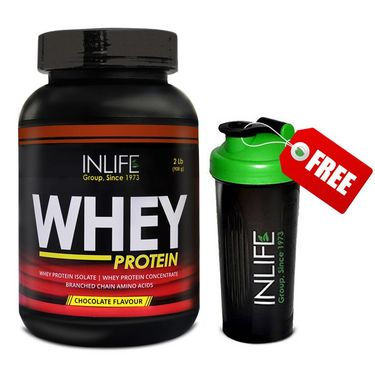 INLIFE Whey Protein 2 Lb (908g) Chocolate Flavor