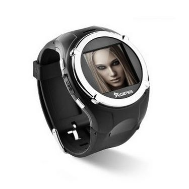 XElectron M998 Multimedia Watch cum Mobile without SD Card - Black
