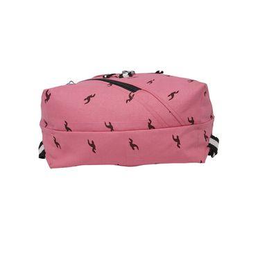 Be For Bag Canvas Backpack Light pink -Zeta