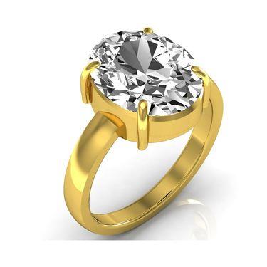 Kiara Jewellery Certified Zircon 3.0 cts & 3.25 Ratti Zircon Ring_Ziry