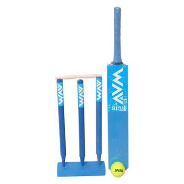 AVM Blue Cricket Kit - Size 5