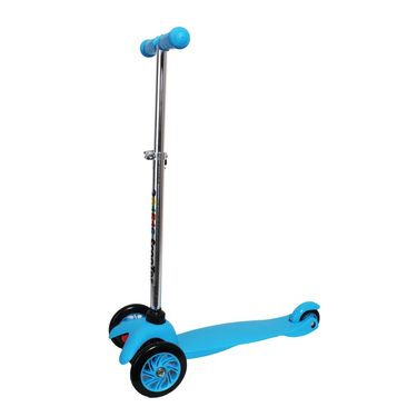 Kids 3-Wheel Twist Scooter - Blue