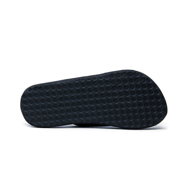 Foot n Style Fabric Slippers  FS130 - Black & Yellow