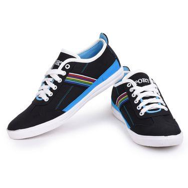 Foot n Style Black Sneakers Shoes -Fs3140