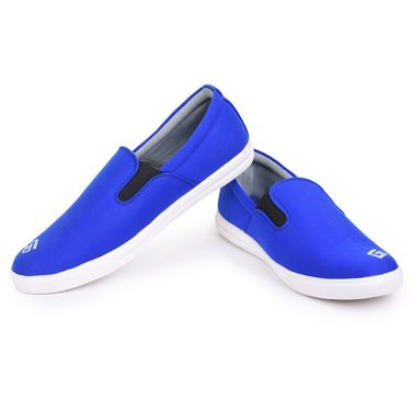 Foot n Style Blue & White Sneakers Shoes -Fs3143