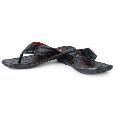 Foot N Style Black Sandals _FS374